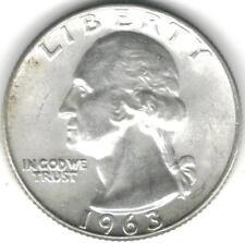 1963-D Silver Coin Washington Quarter AU/Unc TMM*