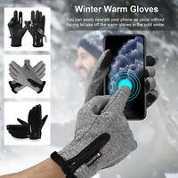 For Men Women Winter Warm Gloves Windproof Waterproof Touch Screen Ski Motocycle