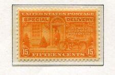 1922-25 USA.  SPECIAL DELIVERY.  15c orange MLH.  SG E560.  CV £34.