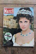 Paris Match N°718 Janvier 1963 Congo Katanga Miss France Lollobrigida Thalidomid