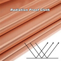 EMF Protection Copper Fabric RFID Signal Block RadiationProof Wifi EMI EMP Cloth