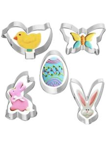 LIMITED TIME OFFER Easter Cookie Cutter Mystery Box 5 Easter Themed Cookie Cutters