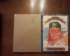 1988 Super Diamond Kings Sealed 5X7 Factory 27 Card Set McGwire-Ripken Rare