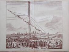 Das längste Fernrohr des Astronomen Hevel Bürgermeister Danzig - aus ca. 1906