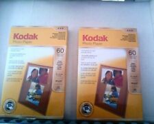 2 packets of Kodak photo paper 4 x 6 in