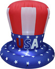 4 Foot Tall Patriotic Independence Day 4Th Of July Inflatable American Multi