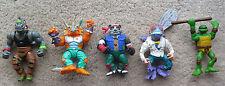 TMNT figure lot Triceraton Baxter Stockman Fly Panda Khan Rocksteady Rhino MORE