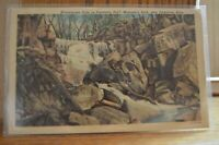 1954 Winnewissa Falls In Pipestone Natl Monument Park Minnesota Postcard
