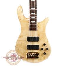 Brand New Spector Euro5LX Electric Bass Poplar Burl Top in Gloss