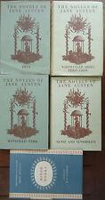 Jane Austen - 5x Hardcovers - Novels + Minor Works - Please See Descriptions