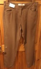 Linen Blend Other Casual Trousers Mid NEXT for Women