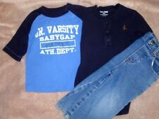 12-18 month boys lot of 2 BabyGap tops & 1 pair 12 month Arizona Jeans