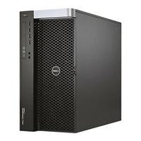Dell Precision T7600 Desktop Workstation Xeon E5 6-Core 128GB Ram 2TB HDD Win10