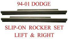 94 01 Dodge Slip-On Rocker Panel Set, Regular & Club Cab, Ram Truck Left & Right