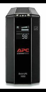 APC BX1000M Back-UPS Pro 1000VA Battery Back-Up System - Black, 600W, Box Damage