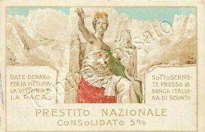 Prima guerra mondiale - Prestito nazionale / illustratore Mataloni
