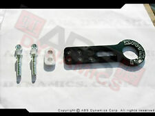 Brand New Datum1 Front Tow Hook Black Aluminum for Civic Delsol Integra Rsx