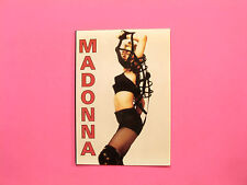 MADONNA VINTAGE POSTCARD NOT POSTER CD LP SHIRT PATCH DVD UK IMPORT