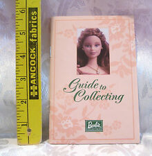 BARBIE DOLL MINIATURE GUIDE TO BARBIE DOLL COLLECTING POPULAR TERMS INCLUDED