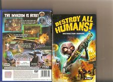DESTROY ALL HUMANS  PLAYSTATION 2 PS2 PS 2