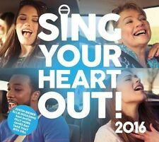 Sing Your Heart out 2016 CD UK 1stclasspost Gift Idea