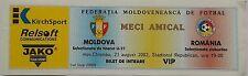 VP TICKET U21 LS 21.8.2002 Moldawien - Rumänien