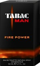 TABAC MAN Eau de Toilette FIRE POWER Natural Spray EdT 50 ml für Herren NEU