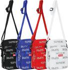 Supreme FW16 3M Reflective Repeat Shoulder Bag Black Box Logo Classic Backpack