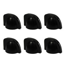 New 6pcs Black Color Guitar Amp Knobs Chicken Head Control Knobs Plastic