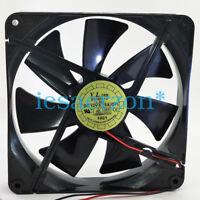 1pc D14BH-12 DC12V 0.70A cooling fan 2pin 140*140*25mm