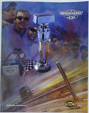 2004 Allstate 400 Brickyard Program Jeff Gordon Hendrick Motorsports Chevy SSR