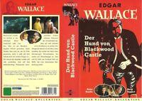 (VHS) Der Hund von Blackwood Castle - Heinz Drache, Hans Söhnker, Horst Tappert