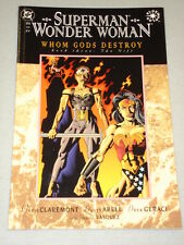 SUPERMAN WONDER WOMAN WHOM GODS DESTROY BOOK 3 GN
