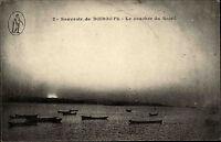 Dschibuti Djibouti Jabuuti Ostafrika Afrika Africa ~1910 Sonnenuntergang Soleil