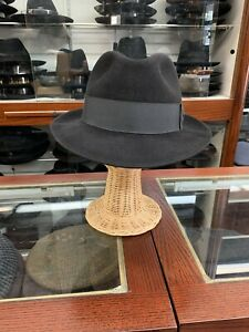 Biltmore President Men's Fedora Hat Made In Canada Size 7 7/8