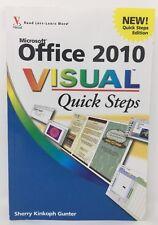 Microsoft Office 2010 Visual Quick Steps By Sherry Kinkoph Gunter