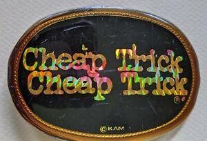 Cheap Trick Belt Buckle 1978 Pacifica Vintage CheapTrick CheapTrick  ELO kiddies