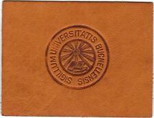 1910 Bucknell University L20 Tobacco Cigarette College Leather Seal