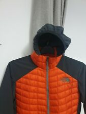 The North Face Thermoball Hybrid Jacket Hoodie Top Men Size XS Chest 35""