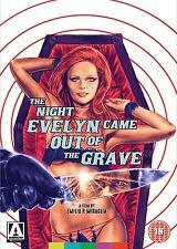 LA NOTTE CHE EVELYN USCI' DALLA TOMBA - DVD in Italiano Arrow Edition NEW .cp