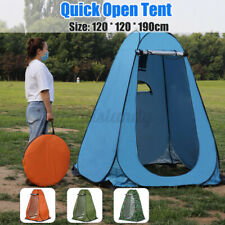 Portable Camping Shower Tent Foldable Changing Room Privacy Toilet Shelter  *