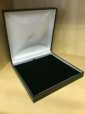 Large Luxury Black Jewellery Box for Necklace Bracelets Gift Box Present New