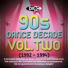 DMC Dance Decade Vol 2 1992 - 1994 Hits of the Nineties Mixes DJ CD Megamixes