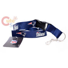 NFL Patriots Lanyard Key Chain ID Ticket Holder