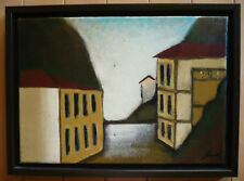 EVE SHPRITSER, Contemporary QUEBEC CANADA CANADIAN MODERN MODERNISM CUBIST OIL