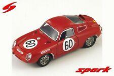 1:43 Abarth 850S n°60 Le Mans 1961 1/43 • SPARK S1333