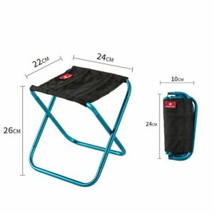 Folding Small Stool Bench Portable Outdoor Light Train Travel Foldable Chairs