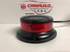 Mini Lampeggiante Flash a Led, Base Magnetica, Presa Accendisigari COBO 12/24V