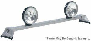 CARR 210874-220062 Deluxe Rota Light Bar Titanium Silver Powder Coat w/Mounts