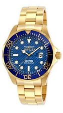Invicta Men 14357 Pro Diver 18k Gold Ion-Plated Watch